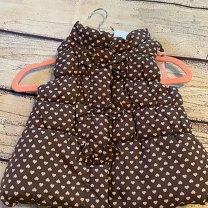Nannette Infant girls Puffer Vest